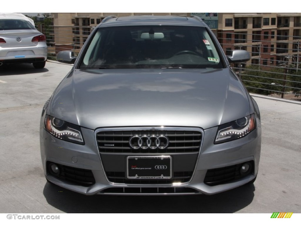 2010 quartz gray metallic audi a4 2 0t quattro avant. Black Bedroom Furniture Sets. Home Design Ideas