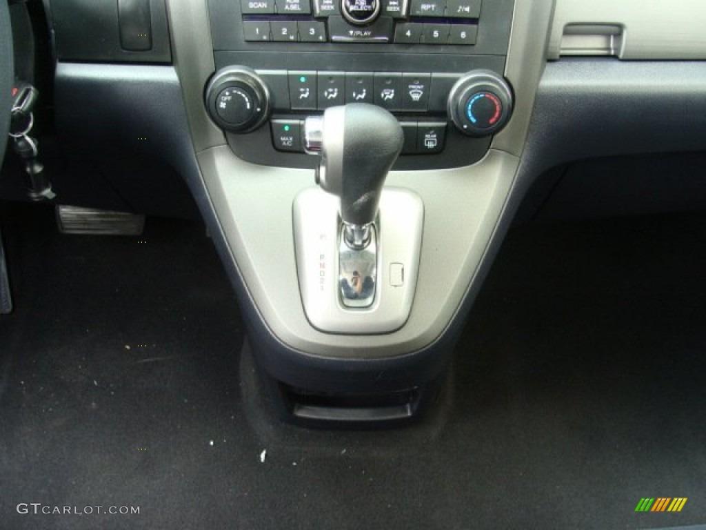 2010 CR-V EX AWD - Polished Metal Metallic / Black photo #13
