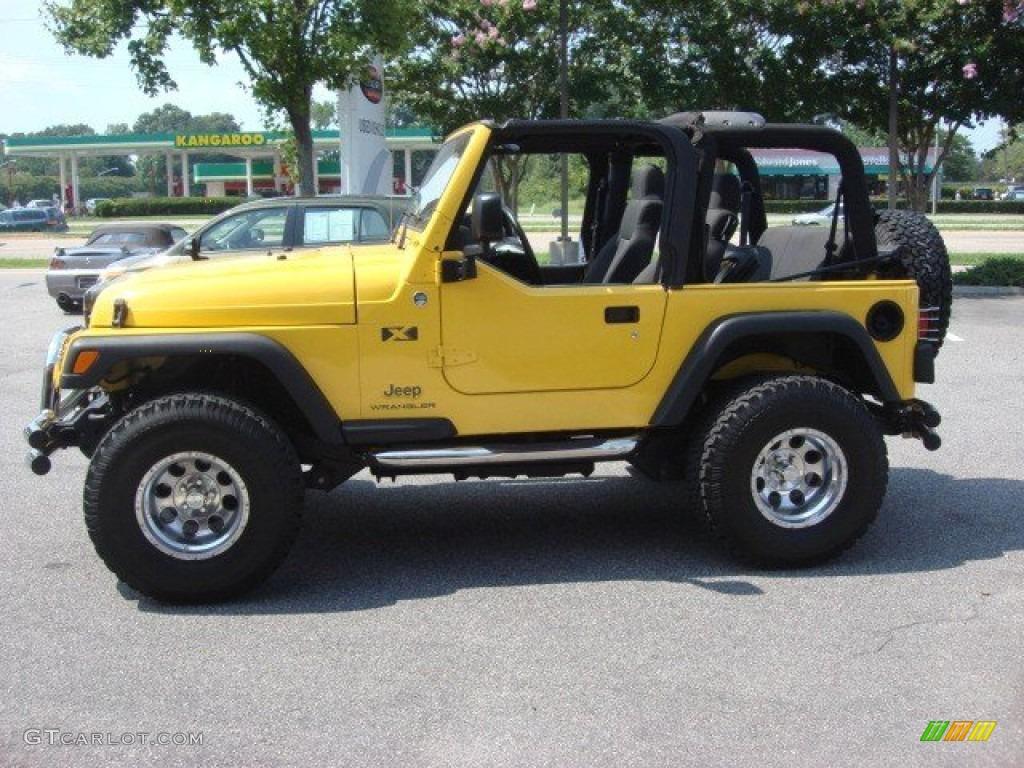 1997 Jeep Wrangler Se Solar Yellow 2006 Jeep Wrangler X 4x4 Exterior Photo ...