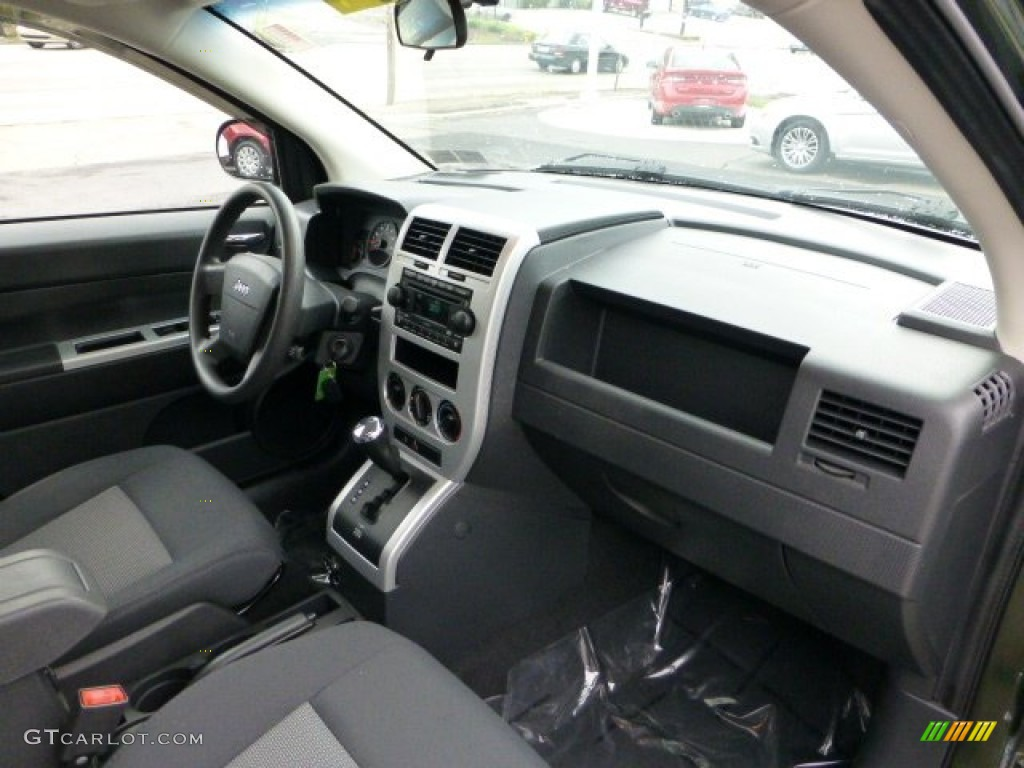 2008 jeep compass sport 4x4 dark slate gray dashboard. Black Bedroom Furniture Sets. Home Design Ideas