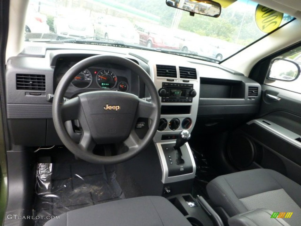 2008 jeep compass sport 4x4 dashboard photos. Black Bedroom Furniture Sets. Home Design Ideas
