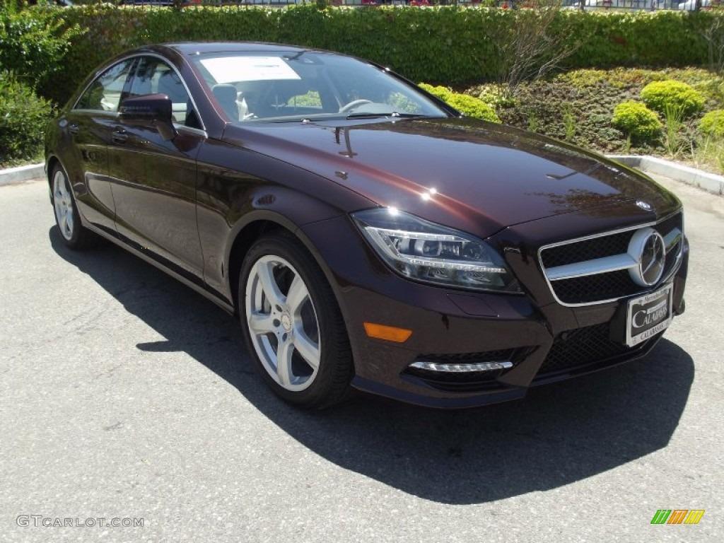 2013 cuprite brown metallic mercedes benz cls 550 coupe for Mercedes benz color