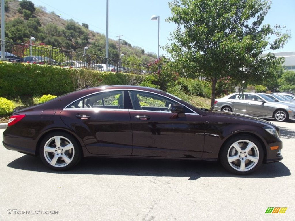 Cuprite brown metallic 2013 mercedes benz cls 550 coupe for Cls home