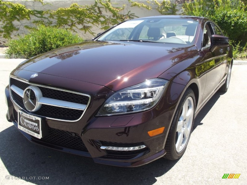 2013 cuprite brown metallic mercedes benz cls 550 coupe for Mercedes benz genuine polar white touch up paint code 149