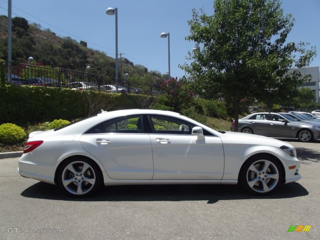 diamond white metallic 2013 mercedes benz cls 550 coupe