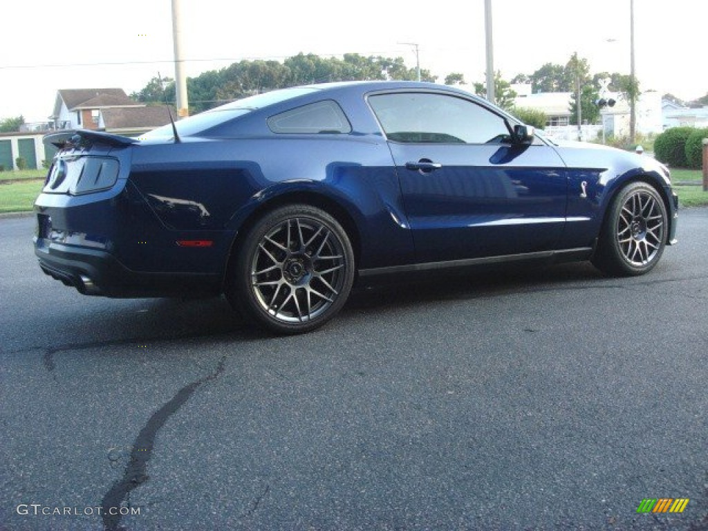 Kona blue metallic 2011 ford mustang shelby gt500 svt performance package coupe exterior photo 68600582