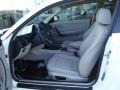 2012 BMW 1 Series Taupe Interior Front Seat Photo