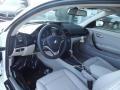 2012 BMW 1 Series Taupe Interior Prime Interior Photo
