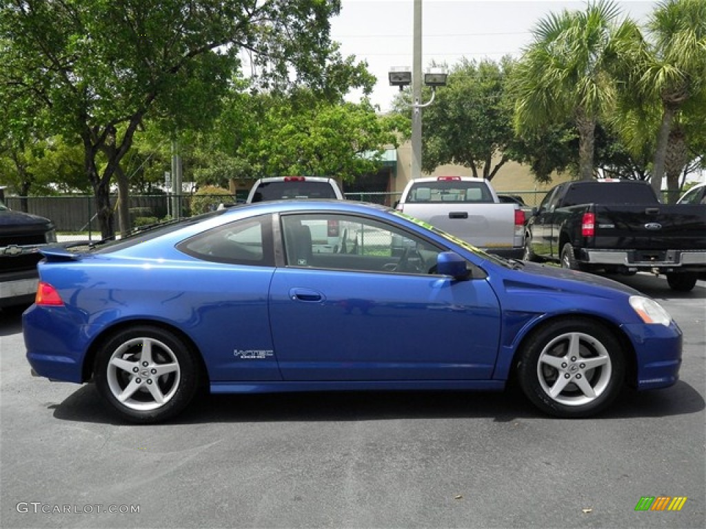 Arctic Blue Pearl 2002 Acura RSX Type S Sports Coupe Exterior Photo #68610401 | GTCarLot.com