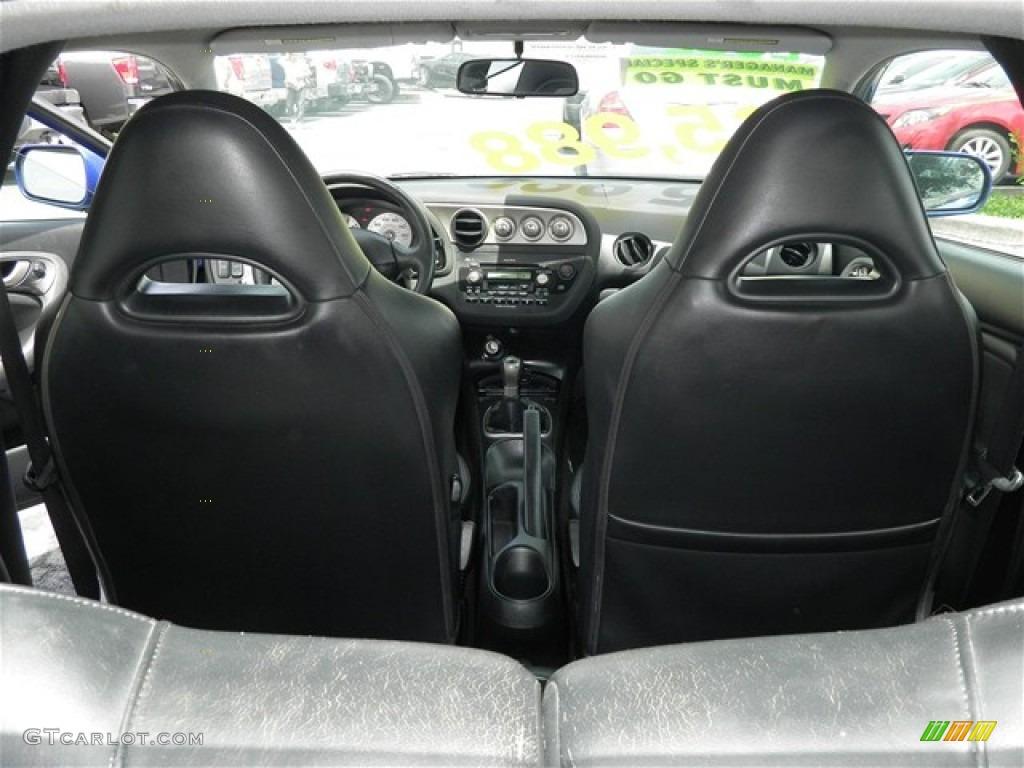 Ebony Black Interior 2002 Acura RSX Type S Sports Coupe ...