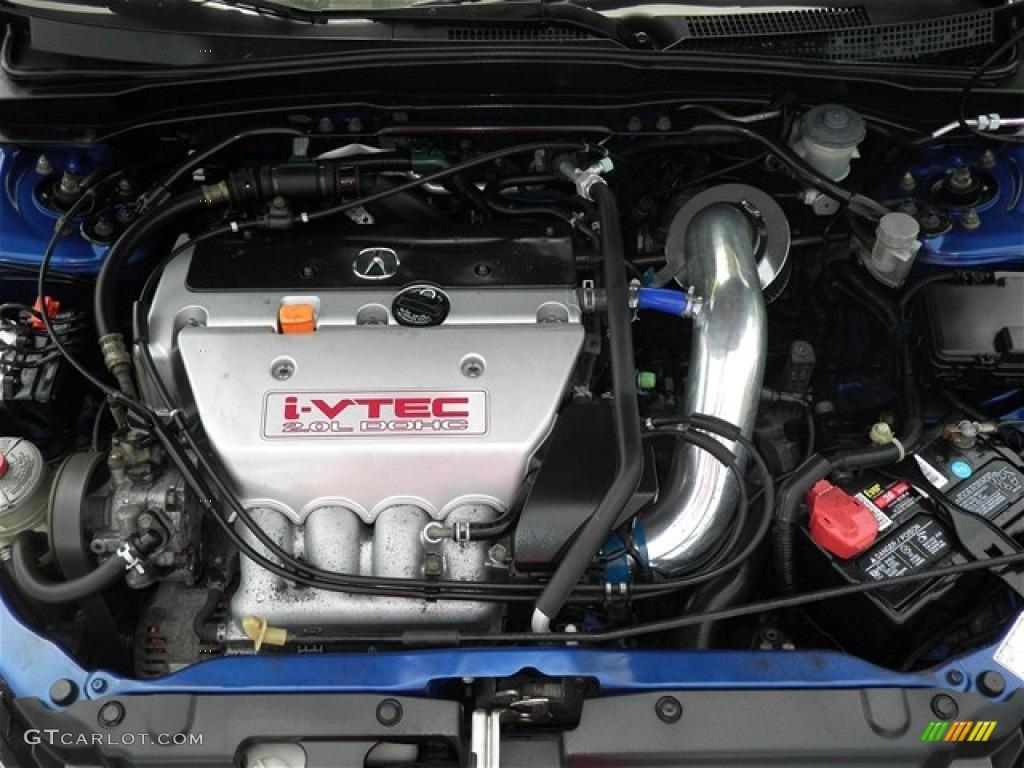 2002 acura rsx type s sports coupe 2 0 liter dohc 16 valve i vtec 4 cylinder engine photo. Black Bedroom Furniture Sets. Home Design Ideas