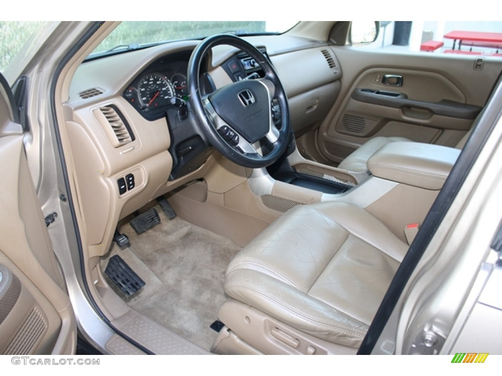 Saddle Interior 2004 Honda Pilot Ex L 4wd Photo 68614532