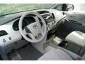 Light Gray 2012 Toyota Sienna Interiors