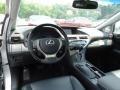 Black/Ebony Birds Eye Maple 2013 Lexus RX Interiors
