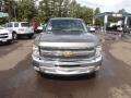 2012 Mocha Steel Metallic Chevrolet Silverado 1500 LT Crew Cab  photo #8