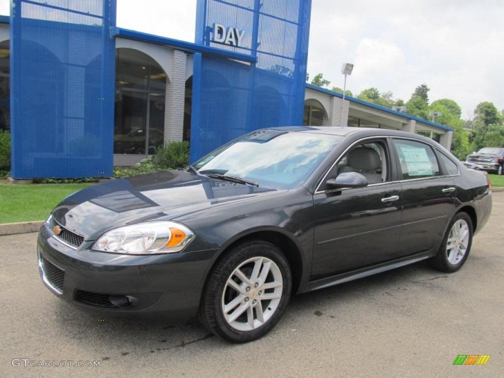2013 ashen gray metallic chevrolet impala ltz #68579308 | gtcarlot