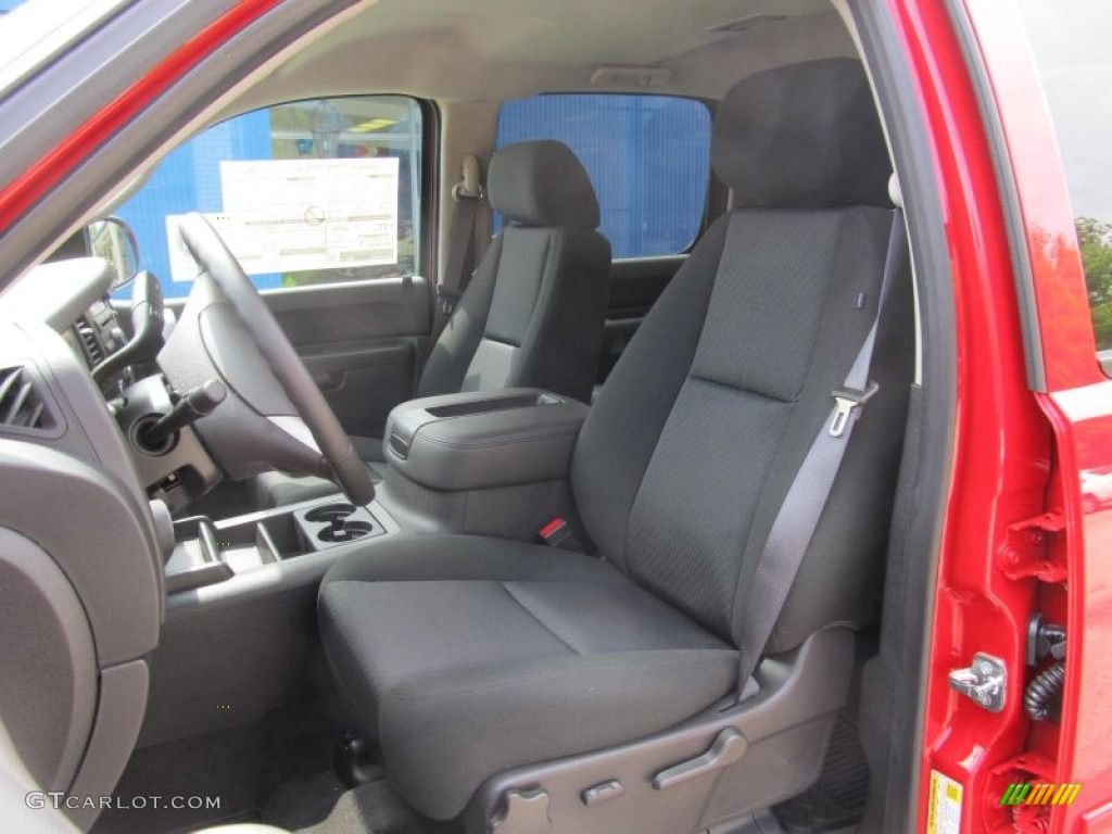 2013 Silverado 1500 LT Crew Cab 4x4 - Victory Red / Ebony photo #8