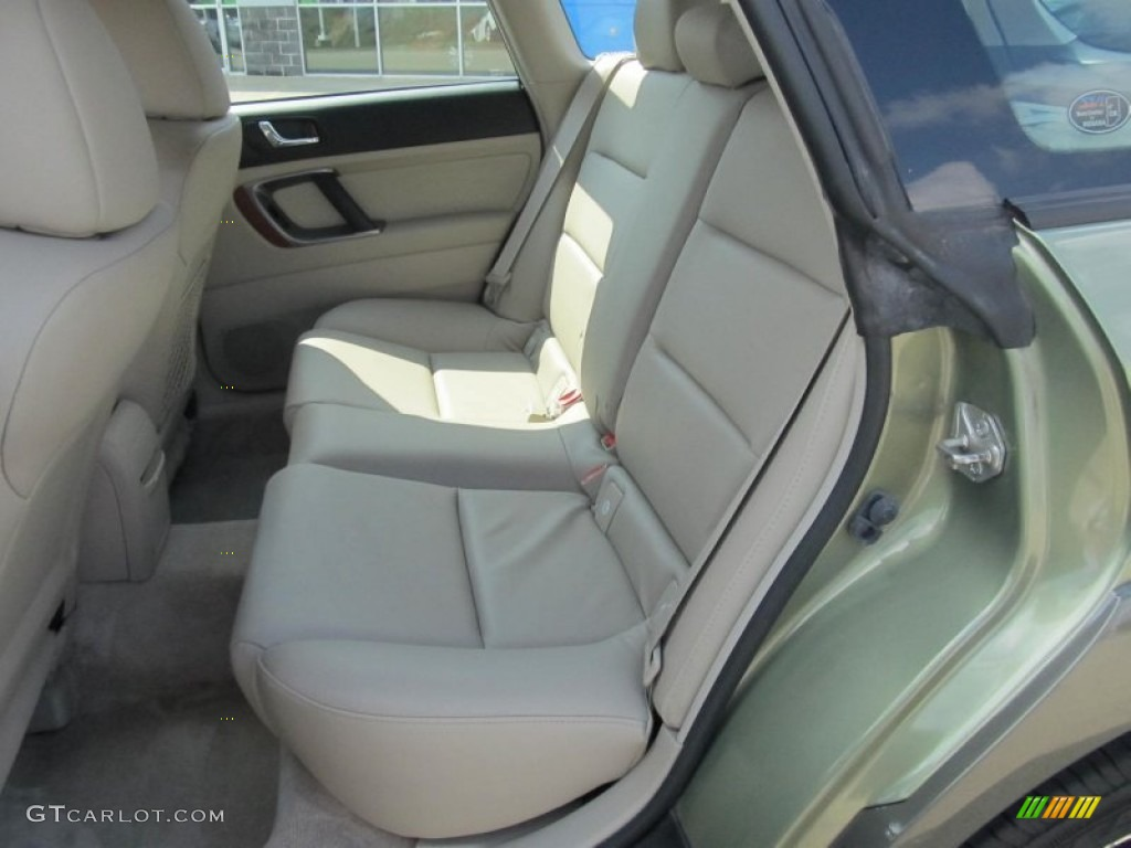 2006 subaru outback limited wagon rear seat photo 68629409. Black Bedroom Furniture Sets. Home Design Ideas
