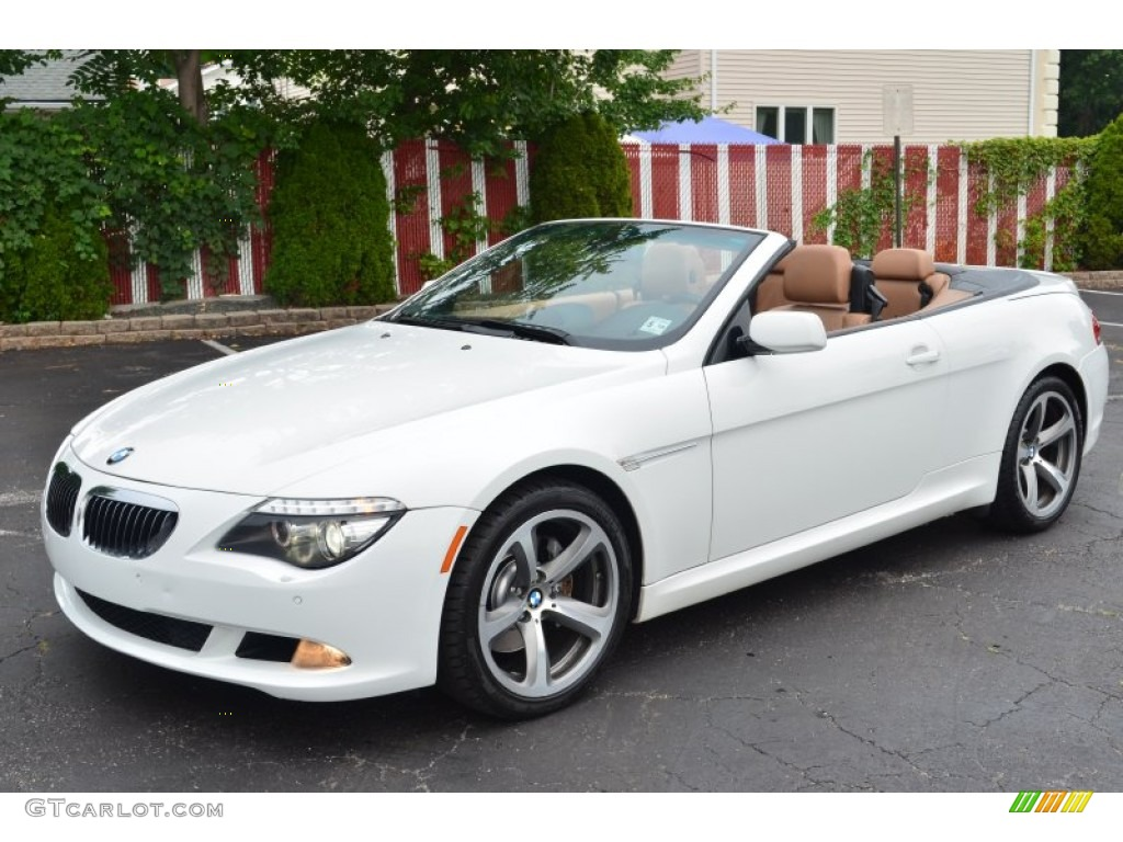 Alpine White 2008 Bmw 6 Series 650i Convertible Exterior Photo 68631052