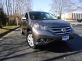 2012 Urban Titanium Metallic Honda CR-V EX-L 4WD  photo #1