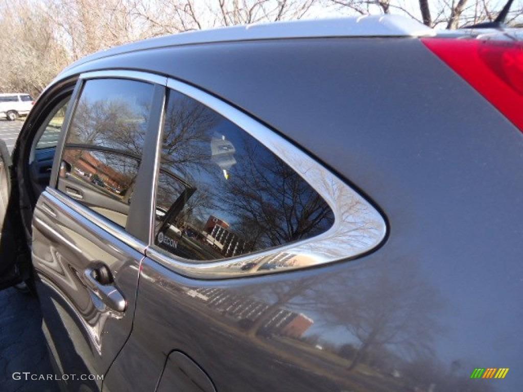 2012 CR-V EX-L 4WD - Urban Titanium Metallic / Gray photo #11