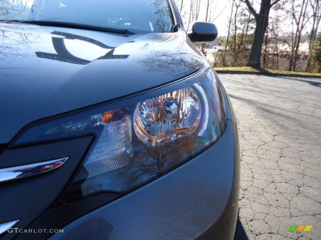 2012 CR-V EX-L 4WD - Urban Titanium Metallic / Gray photo #14