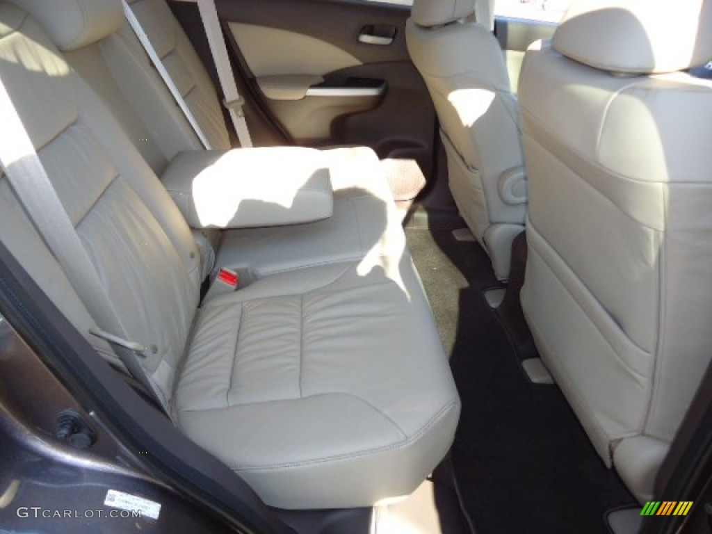 2012 CR-V EX-L 4WD - Urban Titanium Metallic / Gray photo #19