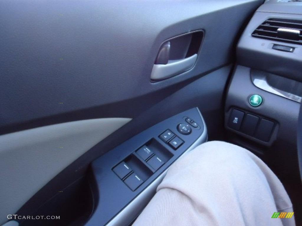 2012 CR-V EX-L 4WD - Urban Titanium Metallic / Gray photo #23