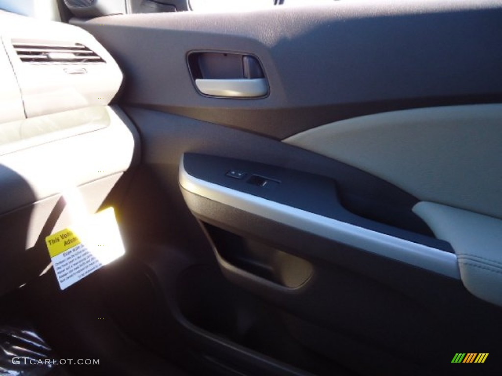 2012 CR-V EX-L 4WD - Urban Titanium Metallic / Gray photo #35