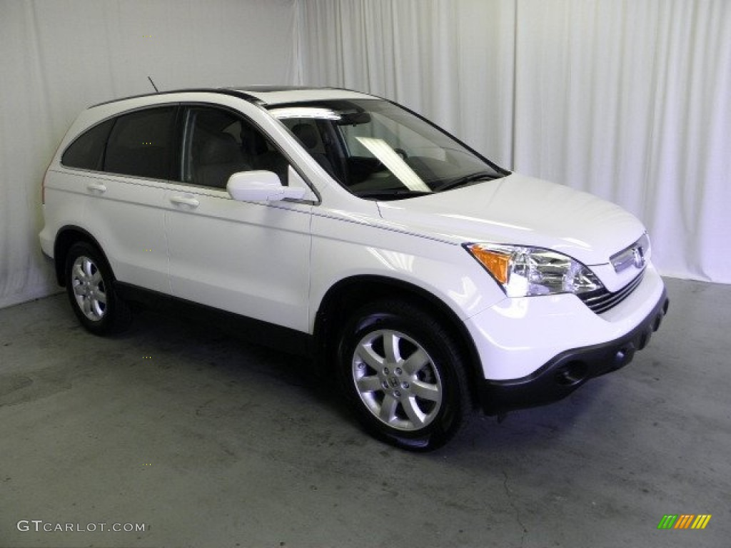 2008 Taffeta White Honda Cr V Ex L 4wd 68664882
