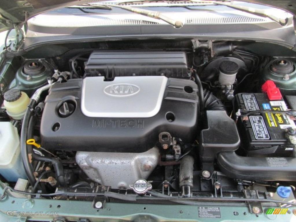 2001 Kia Rio Sedan Engine Photos