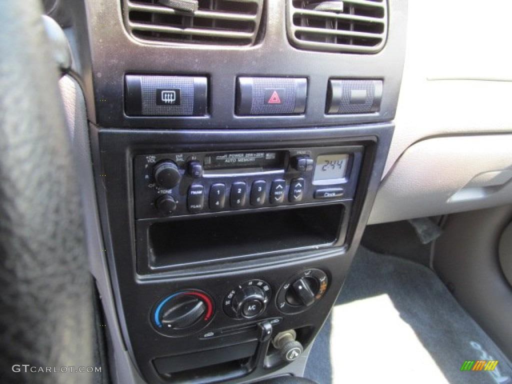 2001 kia rio sedan controls photos