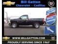 2013 Black Chevrolet Silverado 1500 Work Truck Regular Cab  photo #1