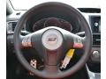 Carbon Black/Graphite Gray Alcantara Steering Wheel Photo for 2008 Subaru Impreza #68684455