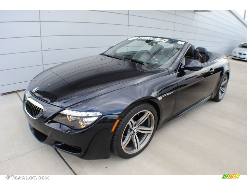 Carbon Black Metallic 2009 Bmw M6 Convertible Exterior