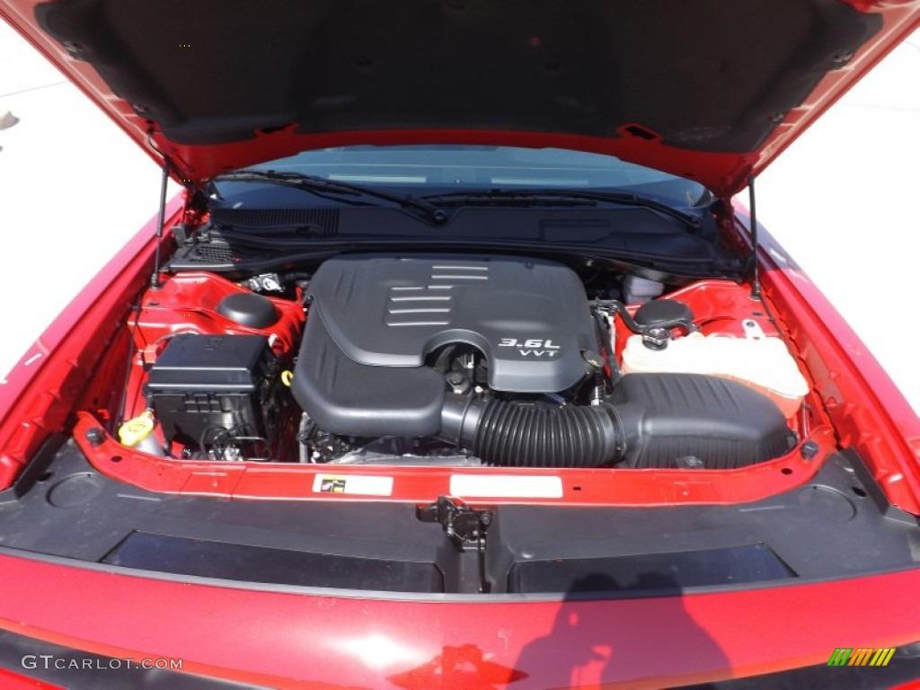 2012 dodge challenger v6 horsepower