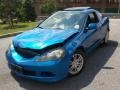 2006 Vivid Blue Pearl Acura RSX Sports Coupe #68664965