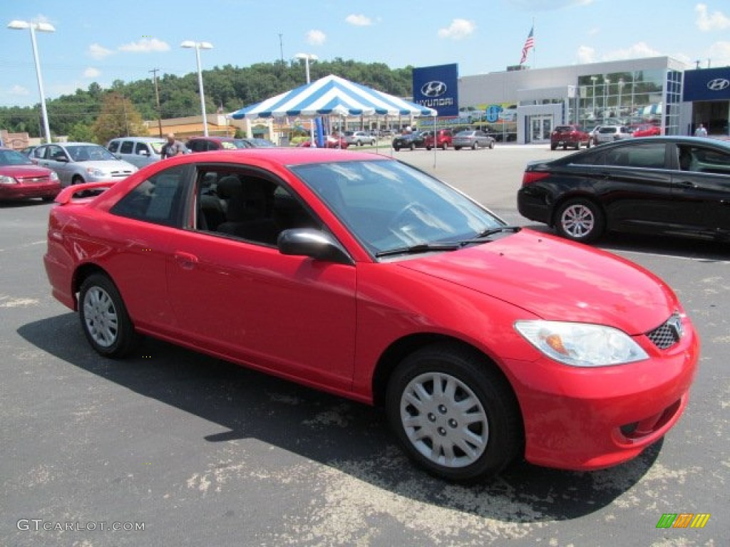 2004 rally red honda civic lx coupe 68664525 car color galleries. Black Bedroom Furniture Sets. Home Design Ideas