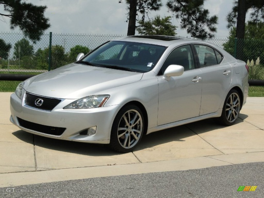 tungsten silver pearl 2008 lexus is 250 exterior photo. Black Bedroom Furniture Sets. Home Design Ideas