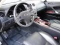Black Prime Interior Photo for 2008 Lexus IS #68697892