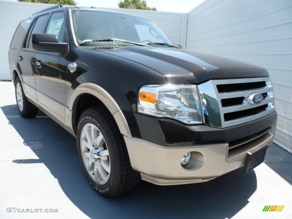 Tuxedo Black Metallic Ford Expedition King Ranch