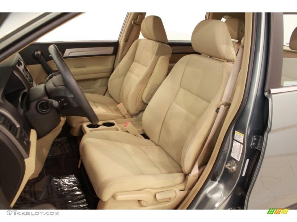 2010 CR-V LX AWD - Opal Sage Metallic / Ivory photo #8