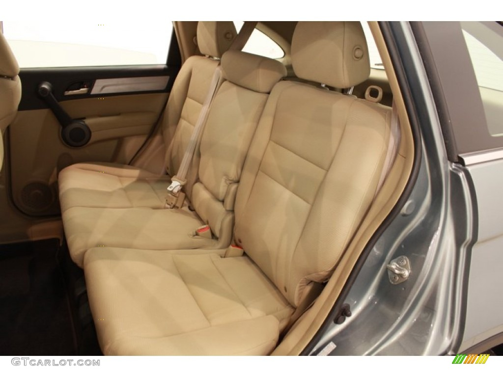 2010 CR-V LX AWD - Opal Sage Metallic / Ivory photo #16