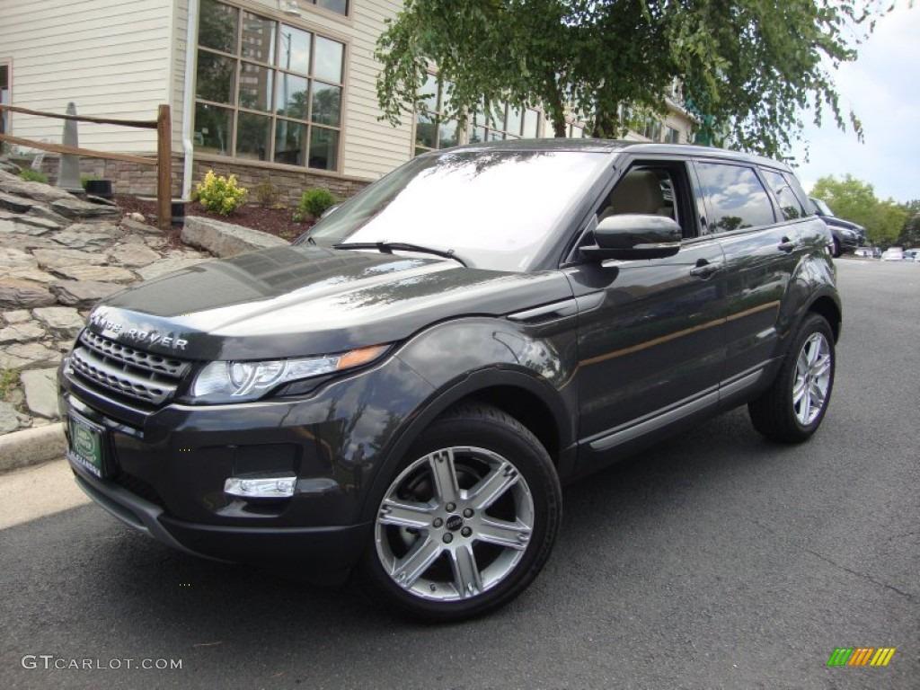 Havana Premium Metallic 2012 Land Rover Range Rover Evoque Pure Exterior Photo 68705758
