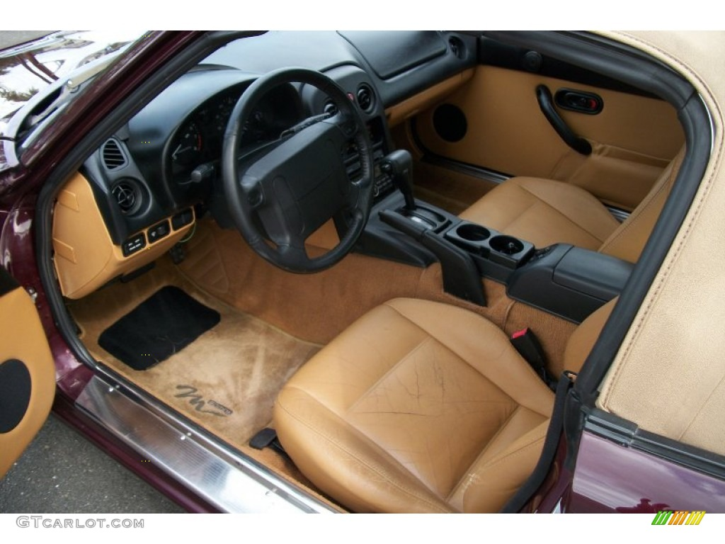 beige interior 1995 mazda mx 5 miata m edition roadster photo 68712685. Black Bedroom Furniture Sets. Home Design Ideas