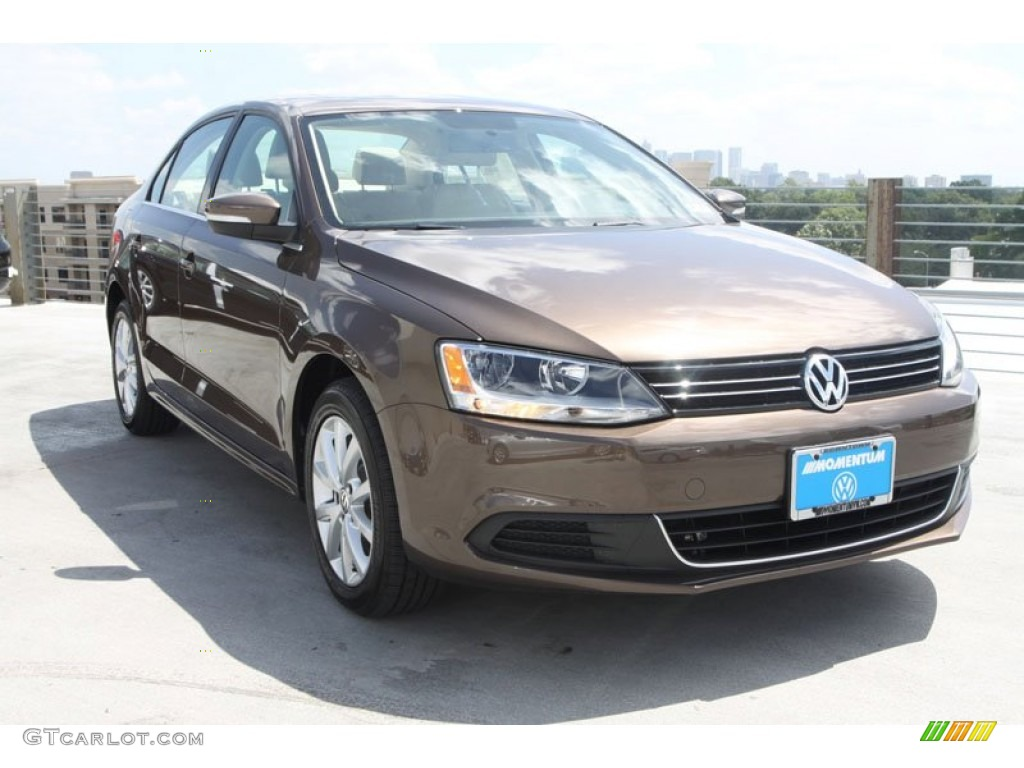 toffee brown metallic volkswagen jetta se sedan  photo  gtcarlotcom car