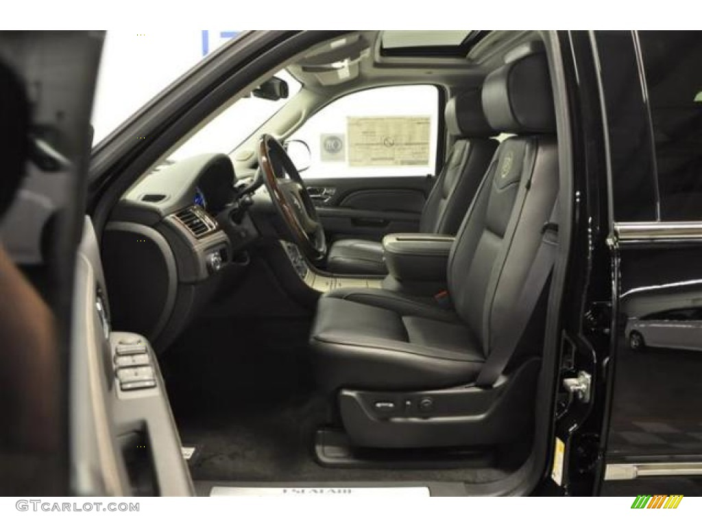 Ebony Interior 2013 Cadillac Escalade Platinum Awd Photo 68728150
