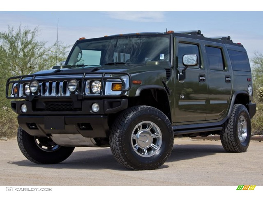 2004 sage green metallic hummer h2 suv 68707363 gtcarlot sage green metallic hummer h2 vanachro Image collections