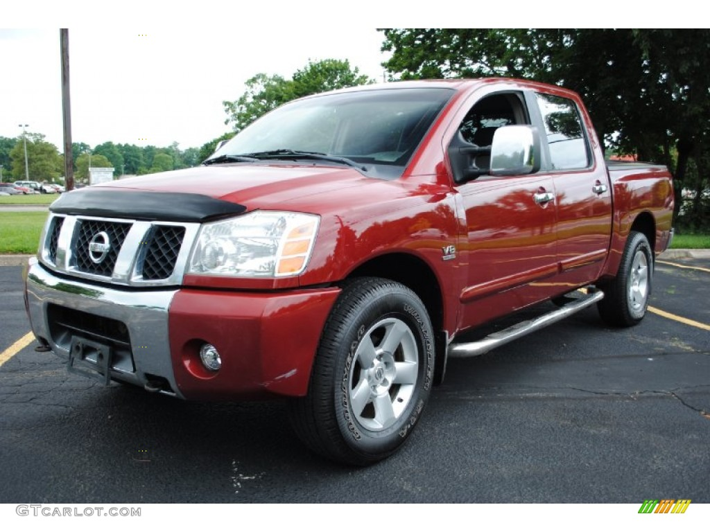 2004 red brawn nissan titan se crew cab 4x4 68707707 gtcarlot 2004 titan se crew cab 4x4 red brawn graphitetitanium photo 1 vanachro Choice Image