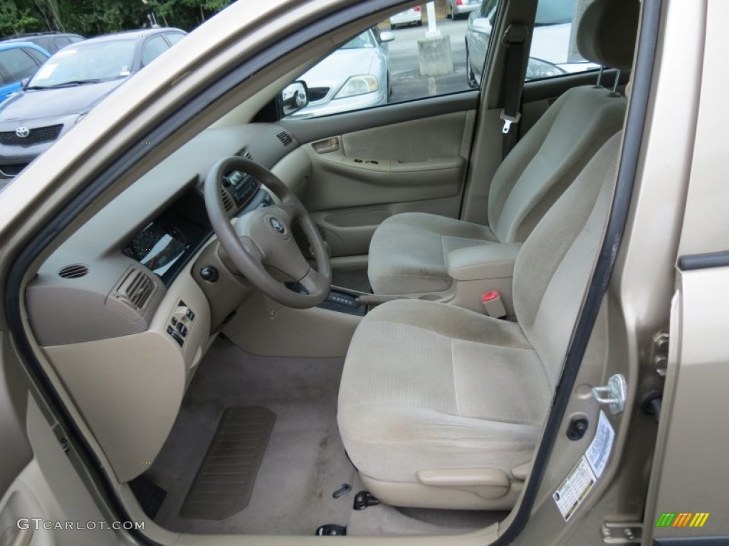Beige Interior 2007 Toyota Corolla Ce Photo 68739715